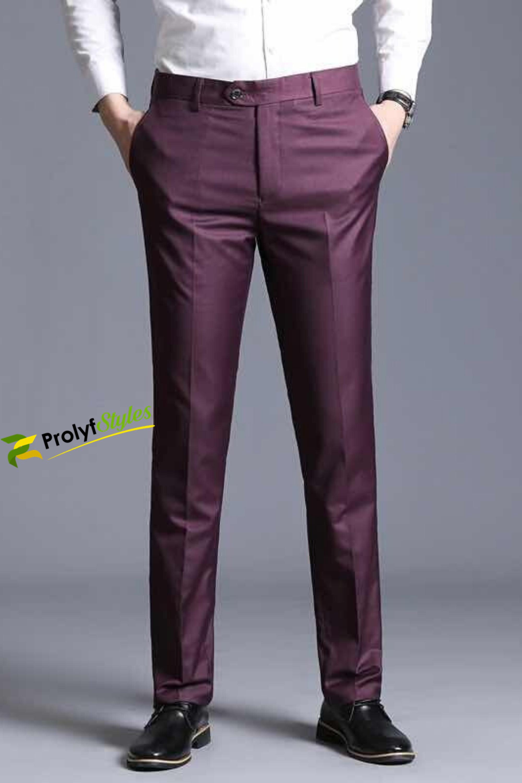 Shop Men S Slim Fit Dress Pants Online From Prolyfstyles Com Slim Fit Dress Pants Men Slim Fit Dress Pants Burgundy Trousers [ 3000 x 2000 Pixel ]