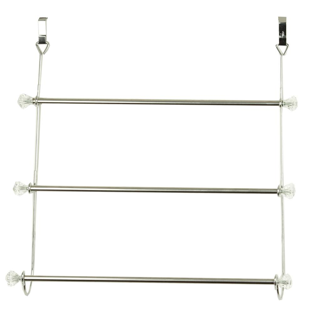 Hds Trading Corp 3 Bar Towel Rack In Chrome Th41069 Chrome Towel