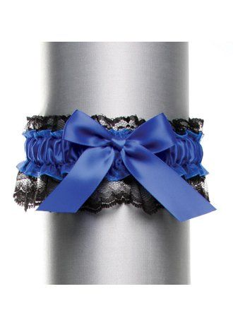 David`s Bridal Black Lace with Satin Bow Garter Style DB20-2003 $15.00