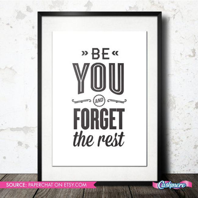 You do you, Boo! #beyourself