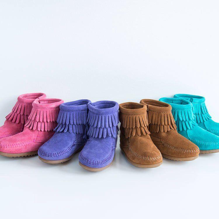 Site officiel de Minnetonka : mocassins, bottes et bottines