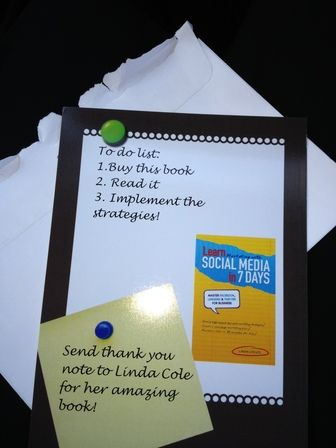 Great books on making more contacts and social media by Linda Coles