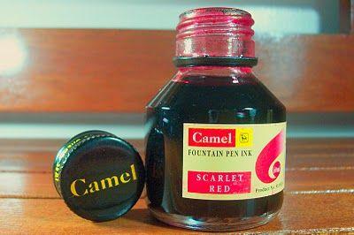 Scarlet Red. Camel