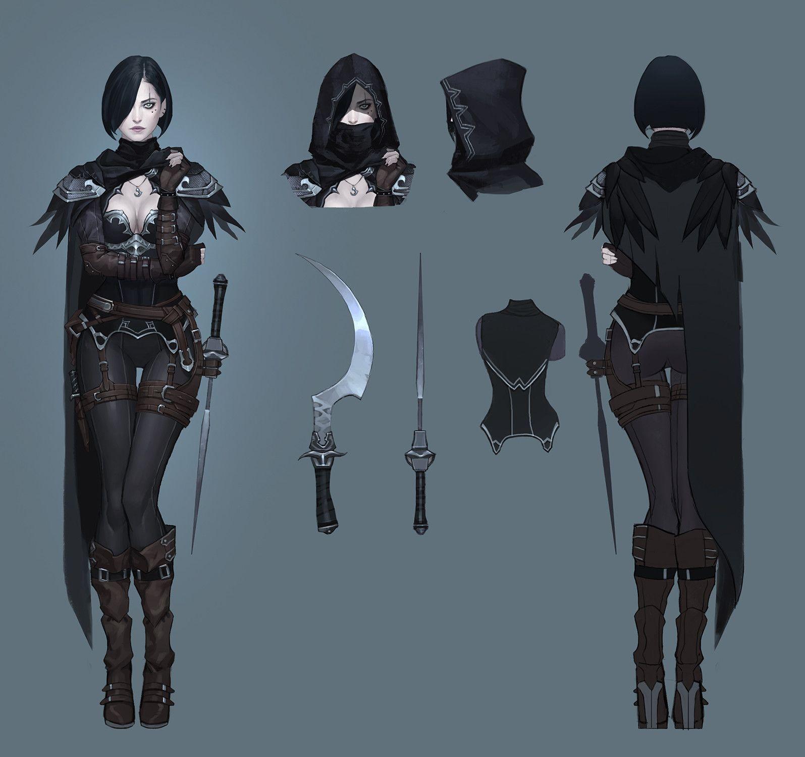 Assassin Crow Concept, Seok Jeon
