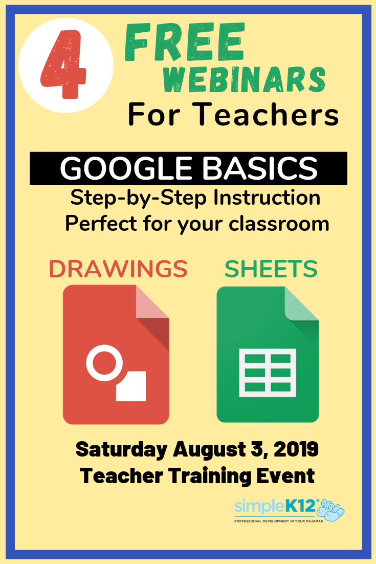 Event Google Basics Training Date Saturday, August 3