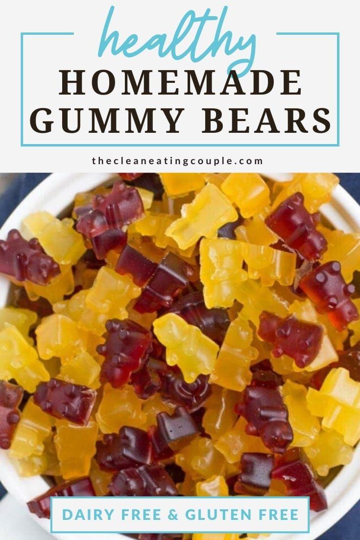Healthy gummy bears recipe quick healthy desserts