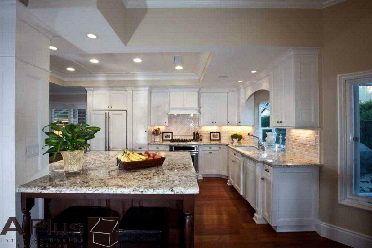 Irvine Kitchen Remodel kitchen cabinet refacing : APlus ...