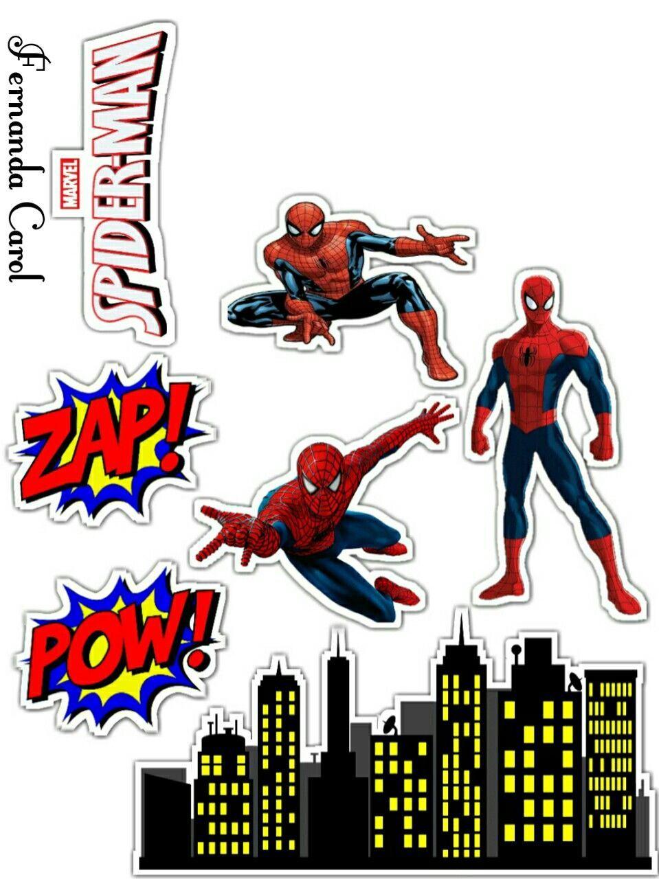 Spiderman Movie Free Printable Cake Toppers Oh My Fiesta For Geeks Spiderman Movie Spiderman Cake Spiderman
