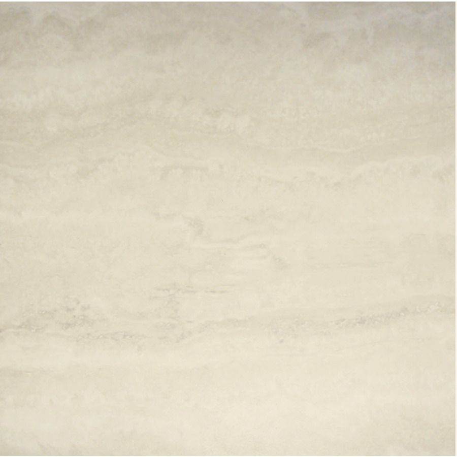 Style Selections 1-Piece 18-in X 18-in Arctic White Peel
