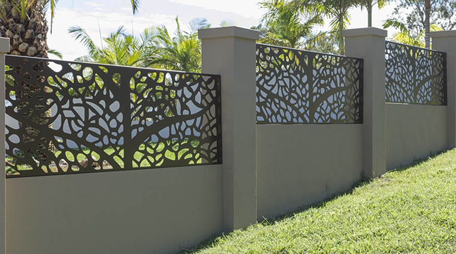 61 3234 9426 fachadas e muros for Decorative fence ideas