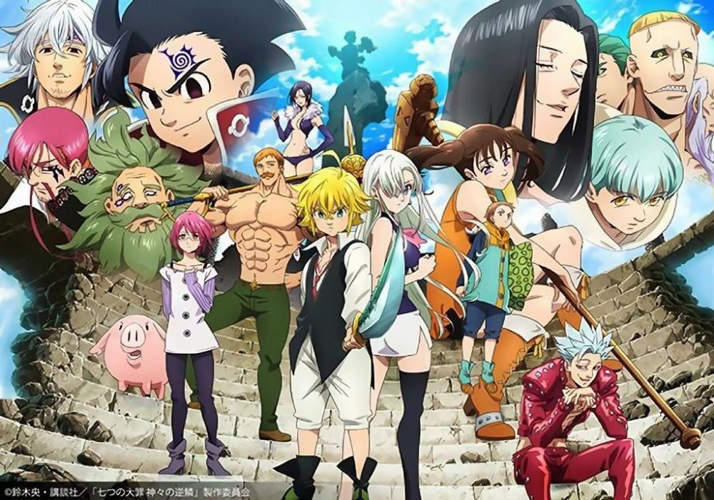 El anime Nanatsu no Taizai: Kamigami no Gekirin tendrá 24 episodios — Kudasai
