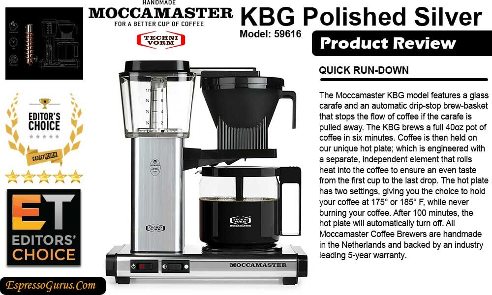 Technivorm Moccamaster Kbg Review