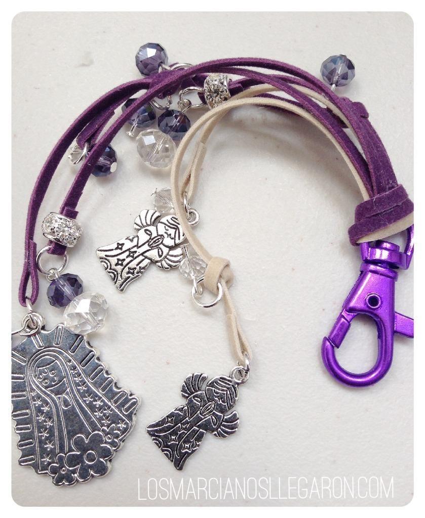 Llaveros diy para decorar tus bolsos communion key - Manualidades de llaveros ...