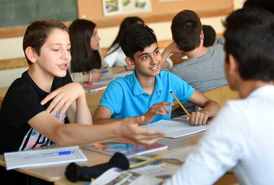 In der Herbert-Hoover-Schule in Berlin wird ausschließlich Deutsch gesprochen. Manche, wie der Türkische Bund, sehen darin einen Skandal.