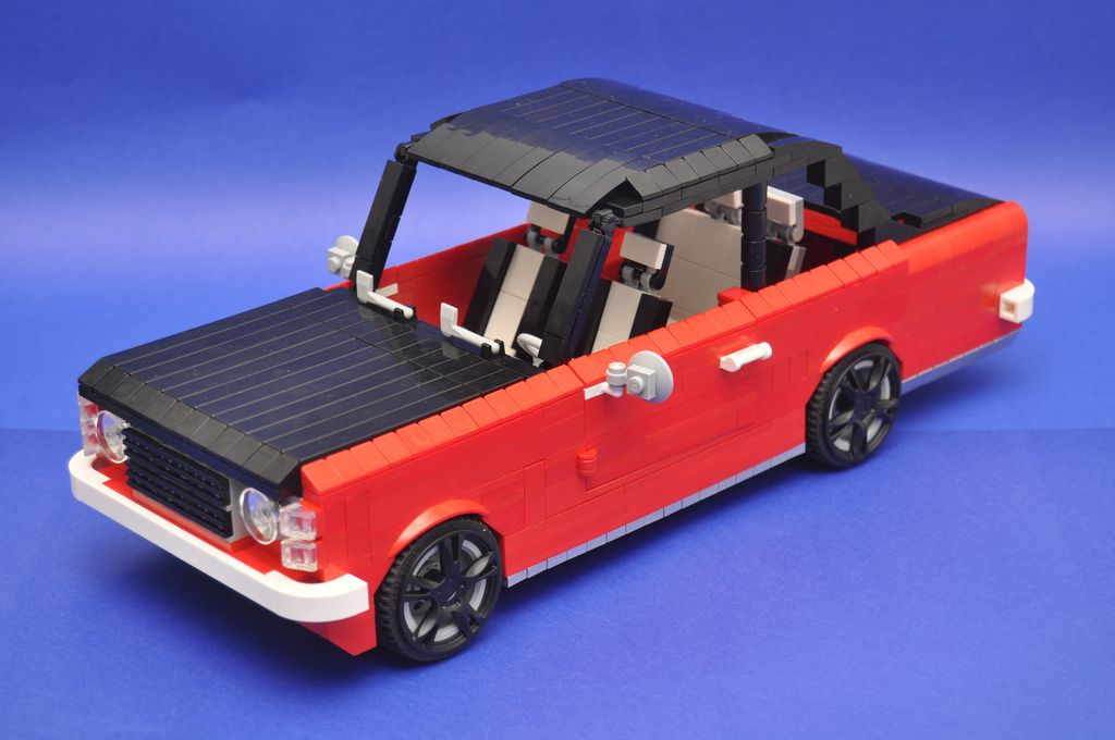 Chevrolet Opala Mid Size Car Chevrolet Lego Cars