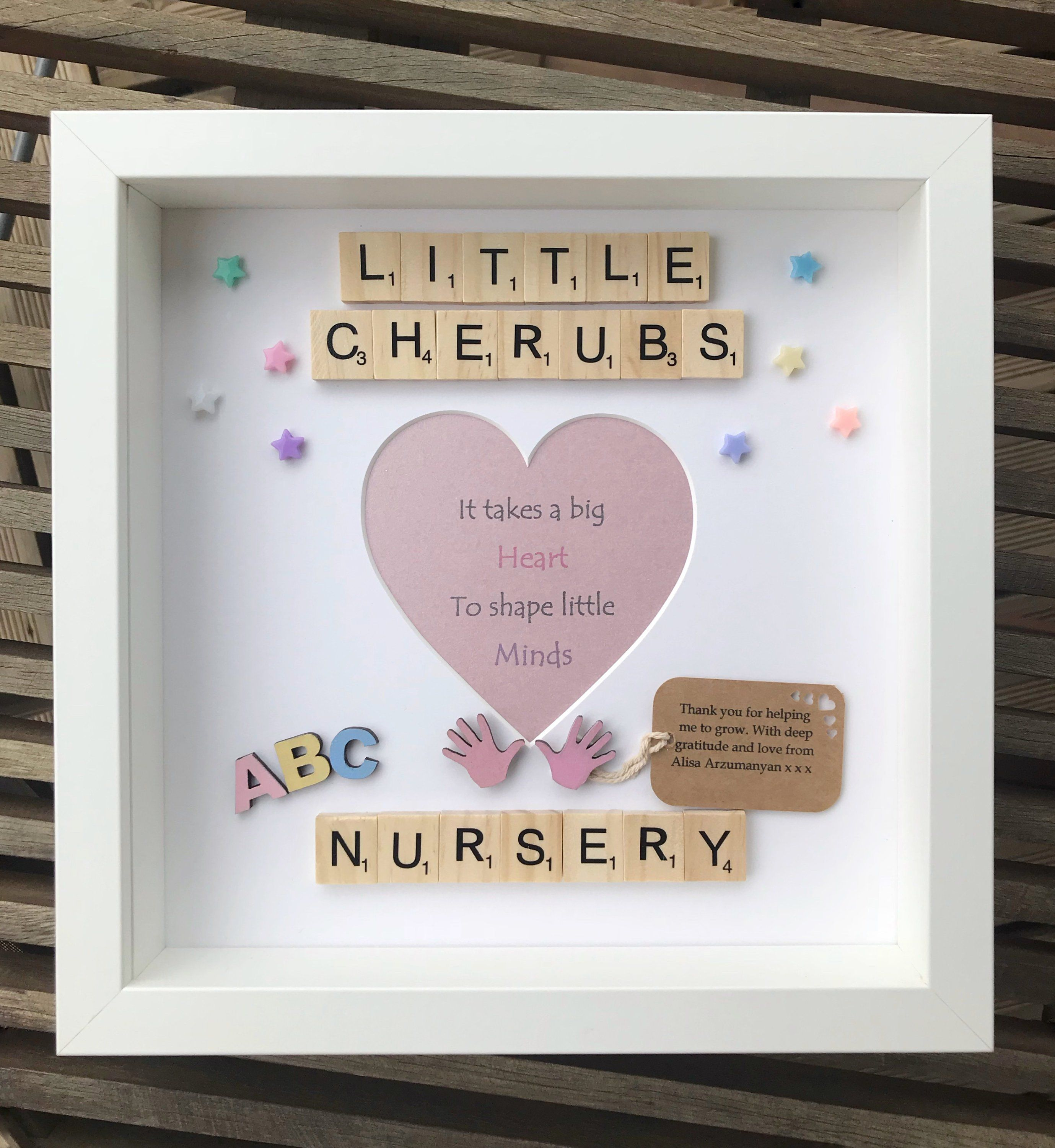 Nursery Thank You Gift Teacher