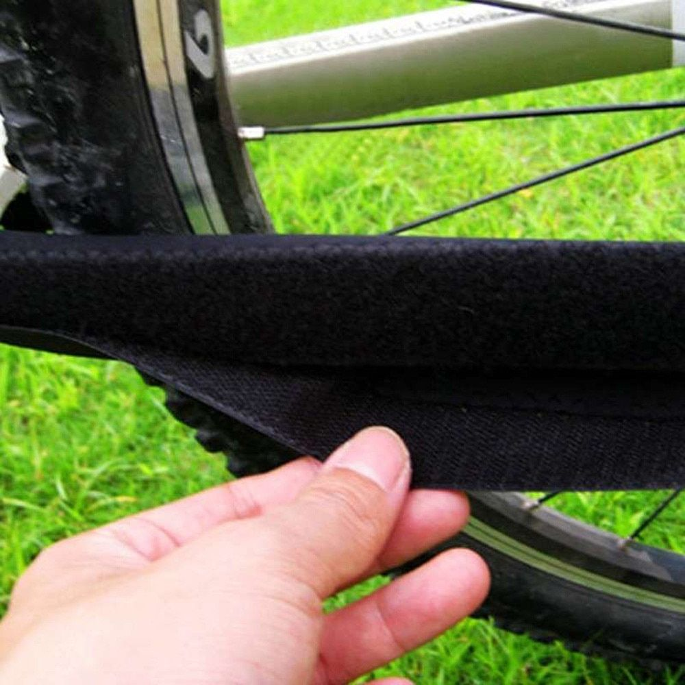 Durable Mountain Bike Care Chain Posted Guards To Protect The Black Box Frame