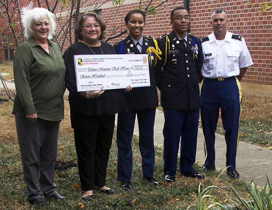 Kenwood High School's JROTC Cadets Focus on Domestic Violence Awareness -  Clarksville, TN Online