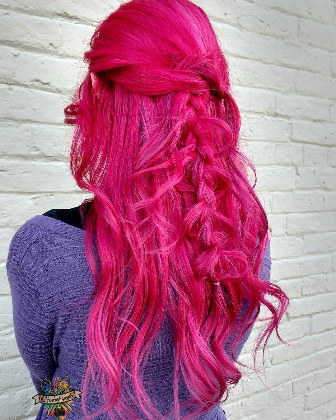 manic panic hot pink #pinkaesthetic