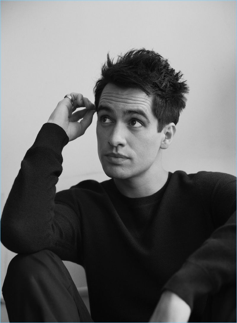 Panic! At the Disco frontman Brendon Urie breaks out into the spotlight with a new Interview shoot. Urie links up with photographer Frida Marklund and stylist Esther Matilla in New York. Going casual for the occasion, Urie sports essentials from brands such as Vince and Frame. The 30-year-old performer talks to Interview about his lead …