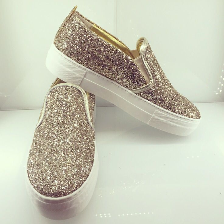 Gold Glitter Sneakers!!! Albano Limitet edition!! Fun with colors