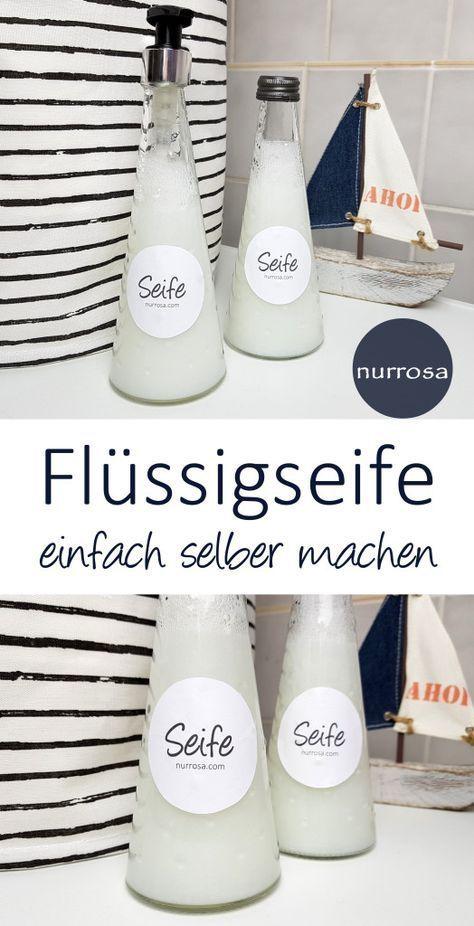 Photo of Flüssigseife selber machen DIY Anleitung Seife plastikfrei  zero waste