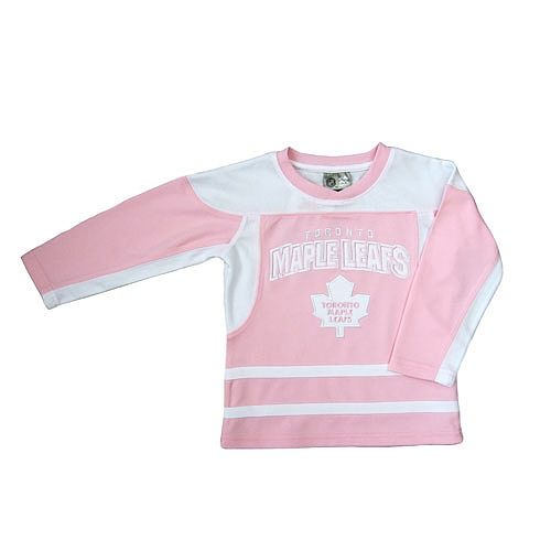 7bb1cd1e441 NHL Toronto Maple Leafs Fashion Top For Girls-Size 3X - Mighty Mac -  Babies