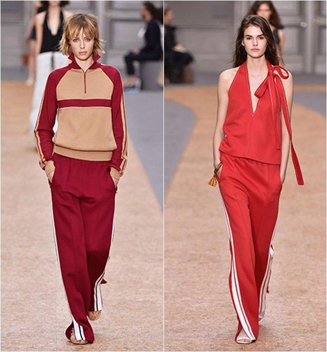 La nueva moda del chándal invade a las firmas de lujo!  #Modalia #Chándal #Tendencias | http://www.modalia.es/marcas/marcas/10019-el-chandal-esta-de-moda-en-esta-temporada-primavera-verano-2016.html
