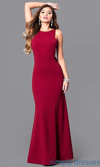 red formal dresses for juniors