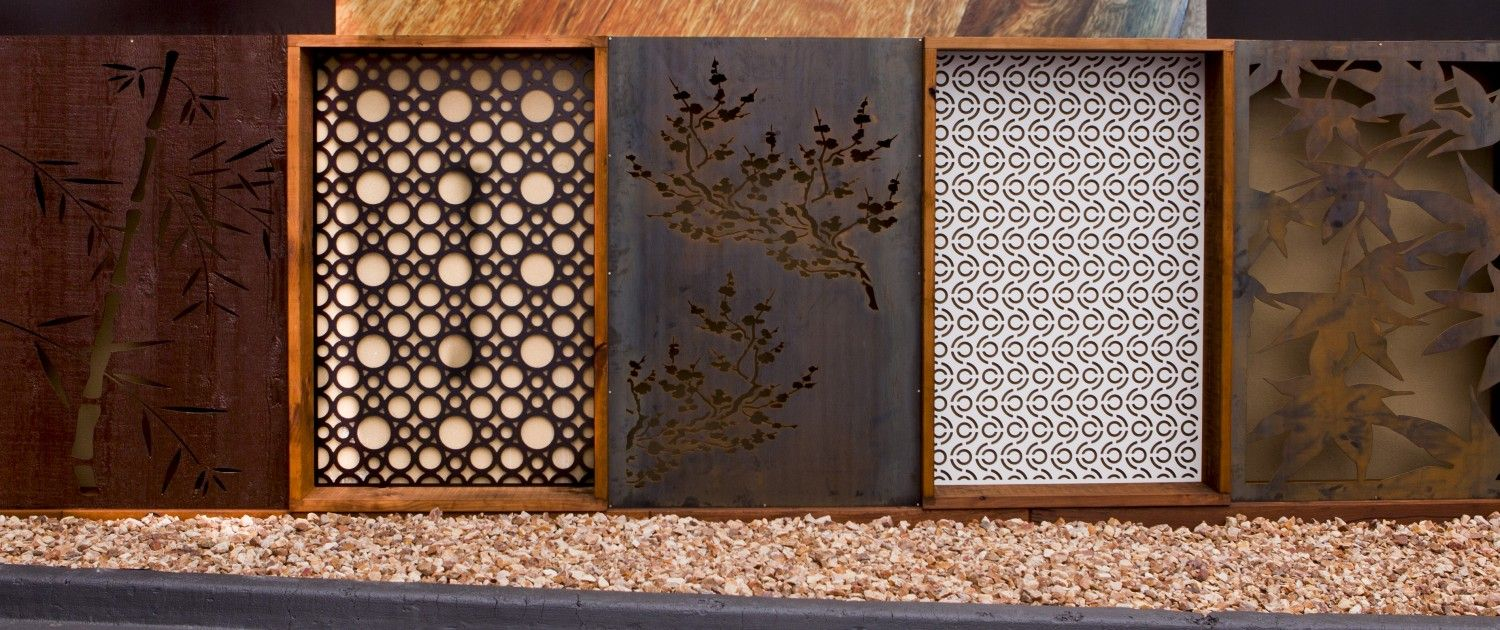 Decorative screens garden and privacy screens 1 home for Decorative outdoor privacy screens