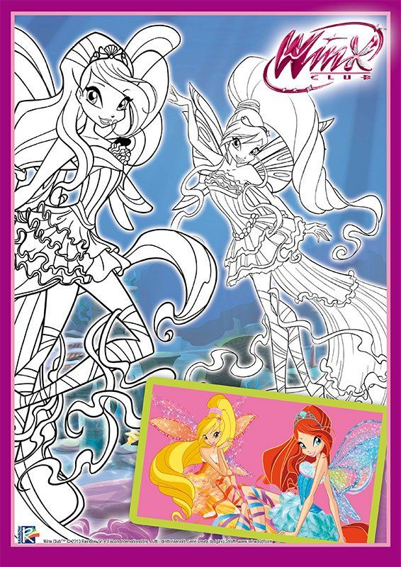 Free Winx Club Printables Downloads And Coloring Pages