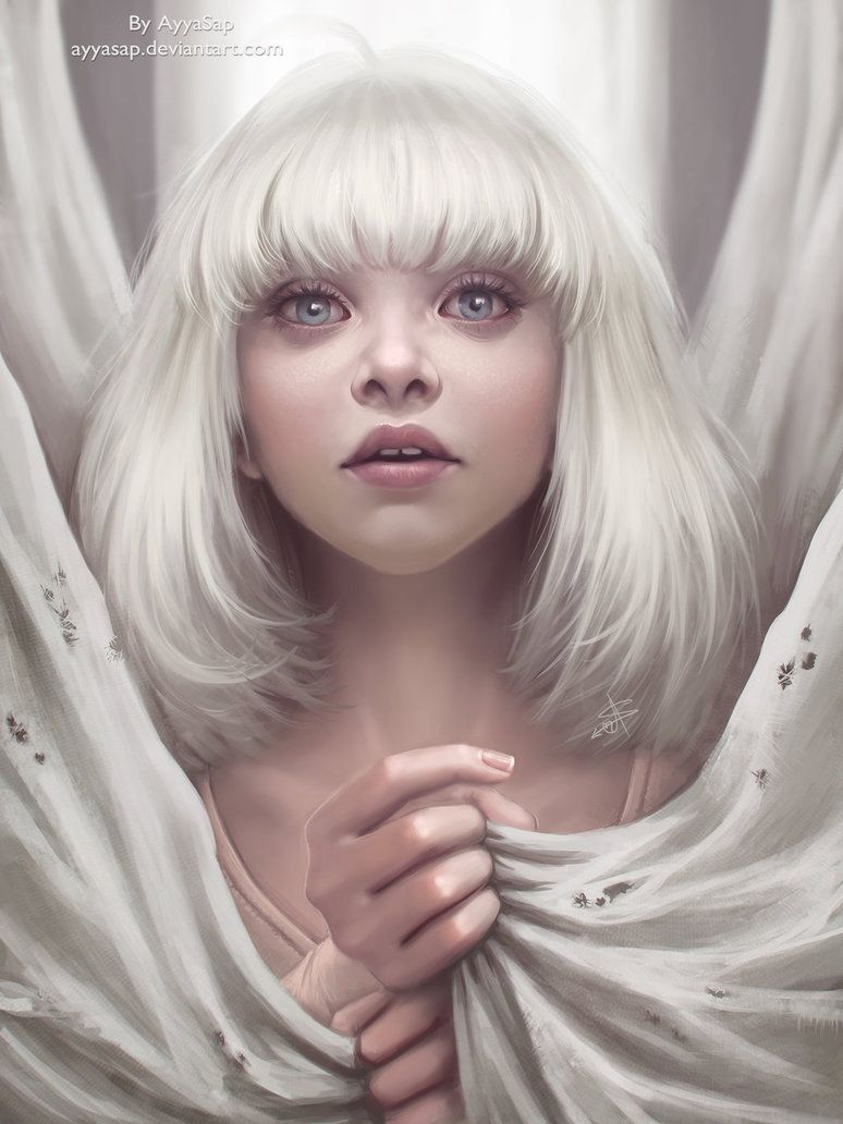 Maddie Ziegler Redraw Sia Chandelier By Ayyasap On Deviantart