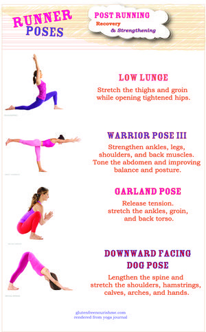 try incorporating these yoga poses into your warm ups and