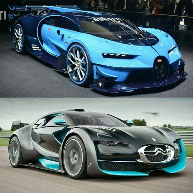 Bugatti Vision Gt Vs Citroen Survolt Follow Excessivexotics
