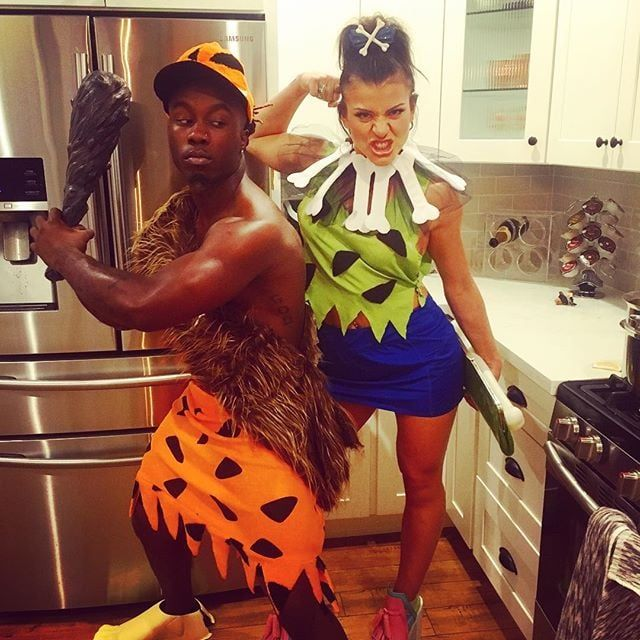 Pebbles and Bamm-Bamm From The Flintstones