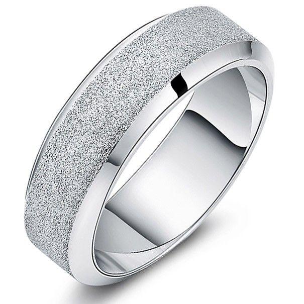 engravable custom name titanium promise ring for men. Black Bedroom Furniture Sets. Home Design Ideas