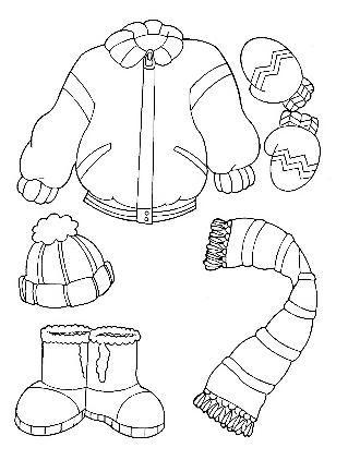 Drawing Dibujos De Invierno Actividades De Invierno Ropa De Invierno