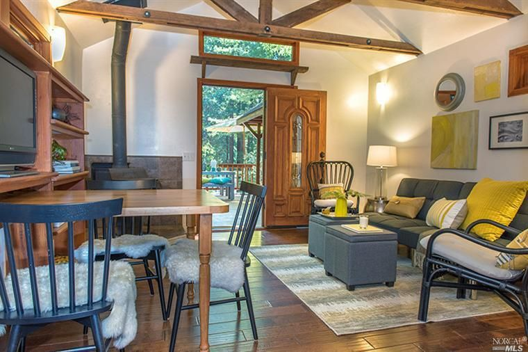 A Beautiful 470 Sq Ft Home In Northern California. The One Bedroom, One  Bathroom
