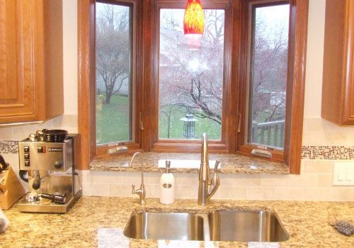 Related Image Kitchen Bay Window Window Over Sink Kitchen Window Treatments