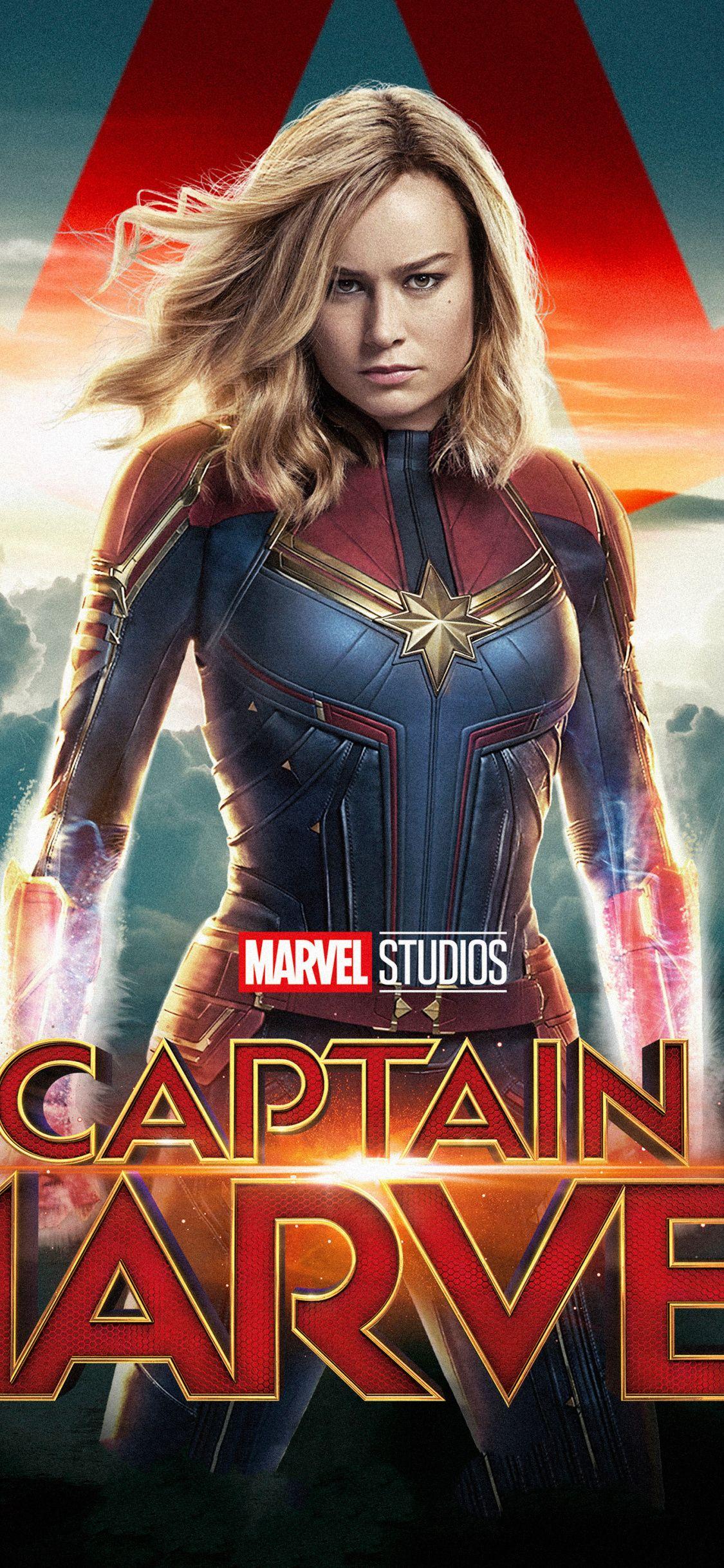 Download 1125x2436 Wallpaper Movie Superhero Actress Captain Marvel Iphone X 1125x2436 Hd Image Background Marvel Heroines Captain Marvel Marvel Posters