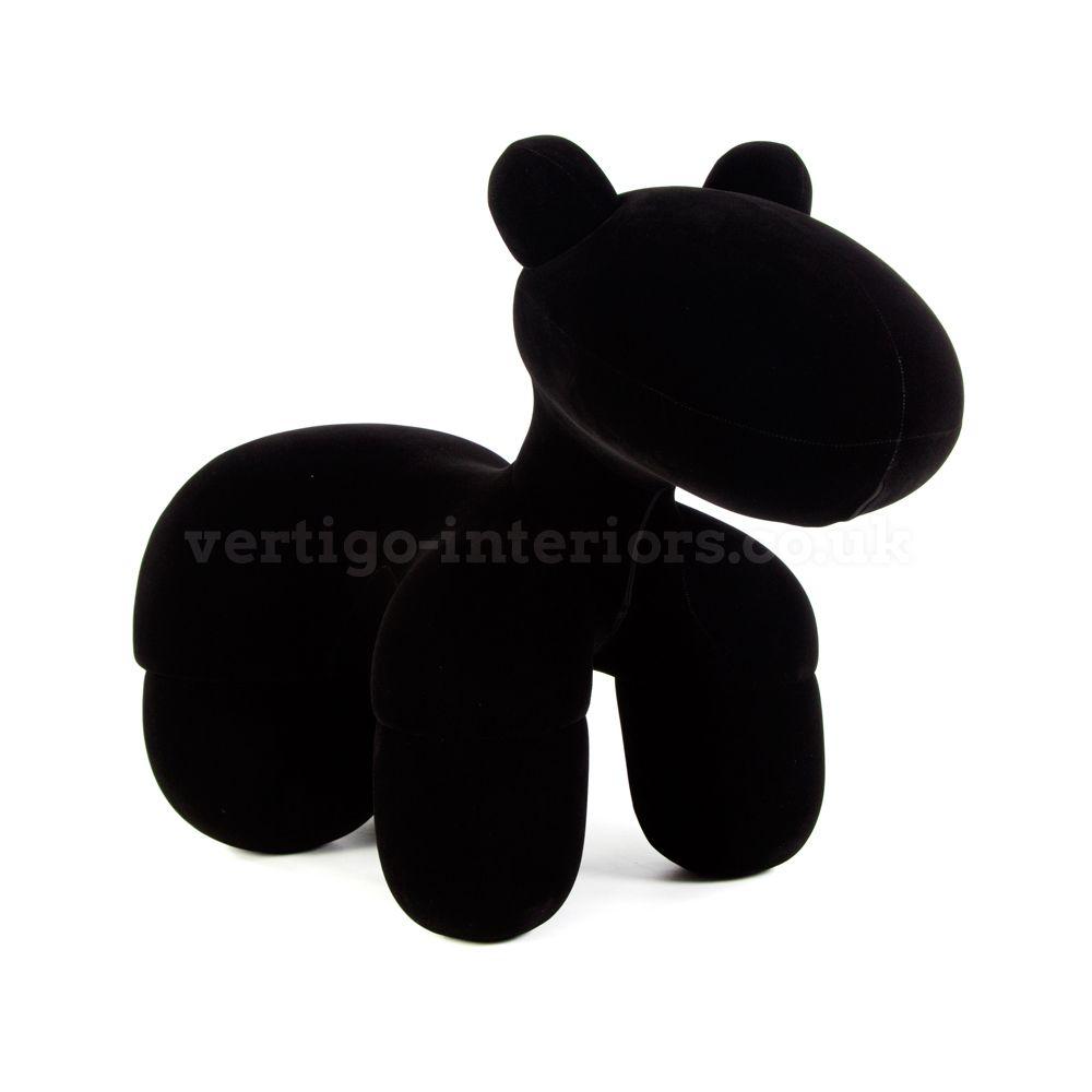 Aarnio Pony Chair Black Fabric Vertigo Interiors Eero Aarnio