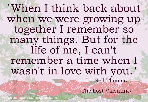 Naldo And Shirl The Lost Valentine Movie Valentines Movies Valentine Quotes Moments Quotes