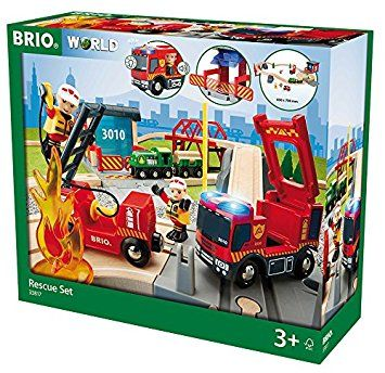 BRIO World 33817 GRAND CIRCUIT POMPIER