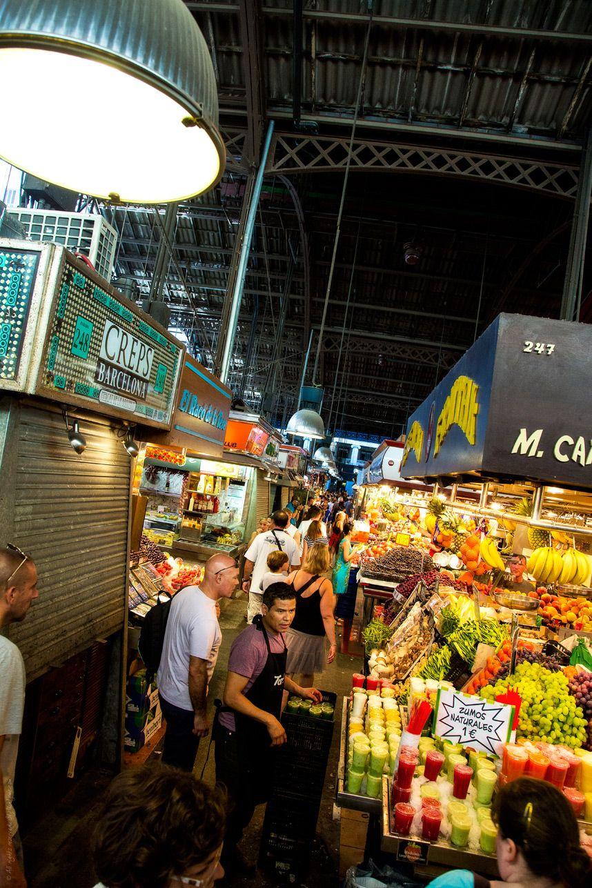 La Boqueria Barcelona Barcelona Spain Travel Travel Memories
