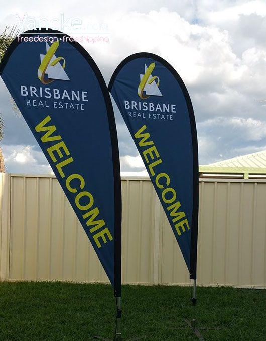 Teardrop Flag Flags Brisbane