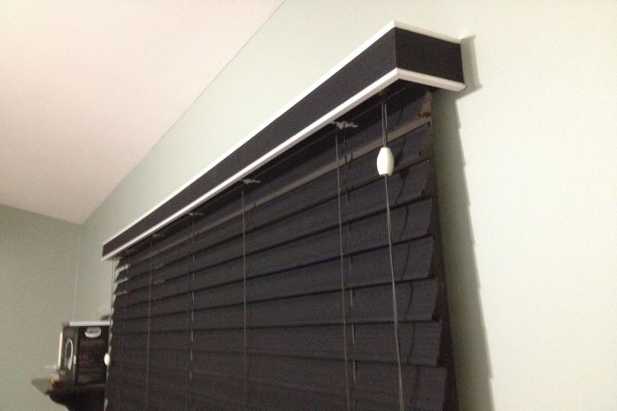 budget blinds signature series murano soft horizontal blinds in solare noirexclusively by budget signature series