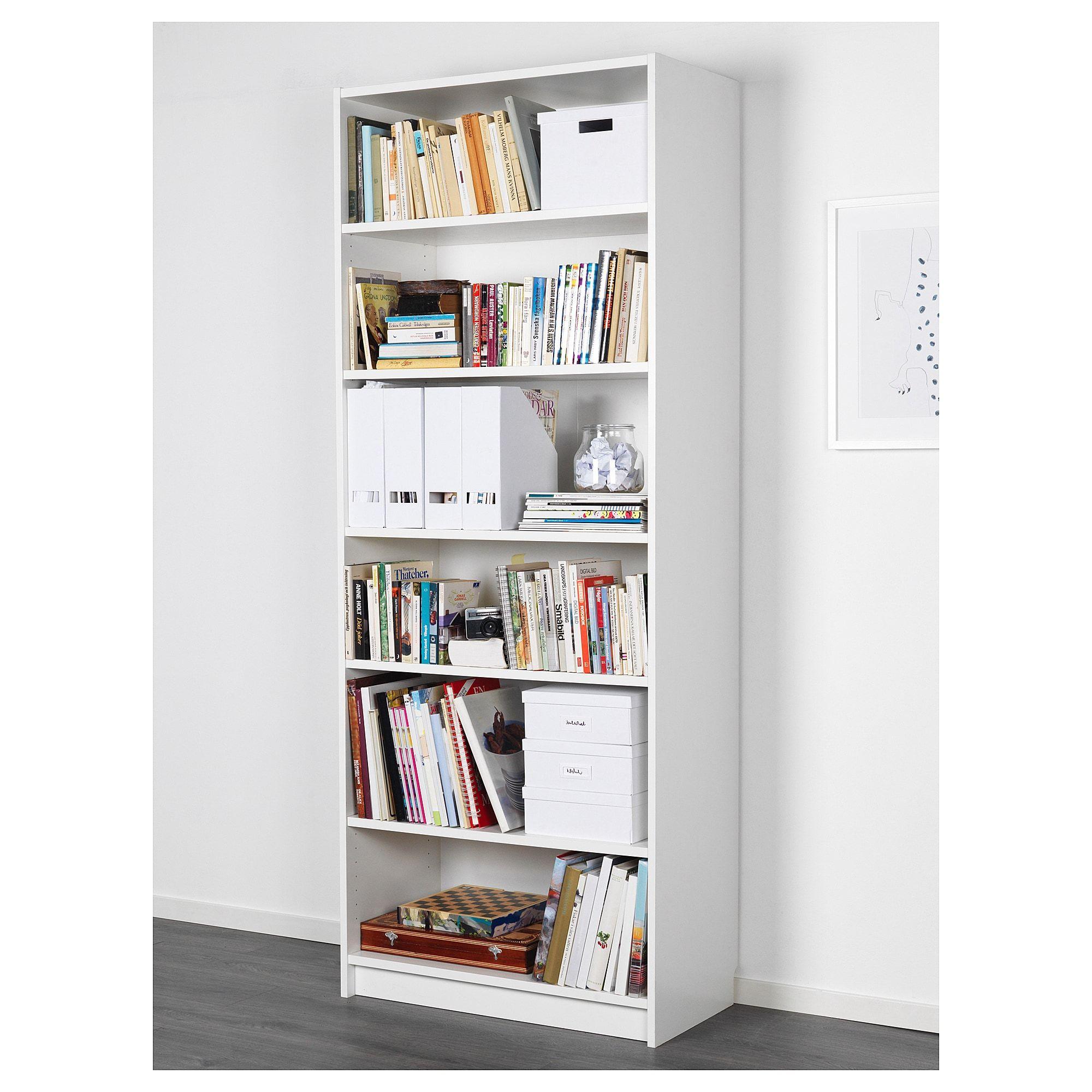 Billy Bookcase White 80x40x202 Cm White Bookcase Ikea Billy Bookcase White Billy Bookcase