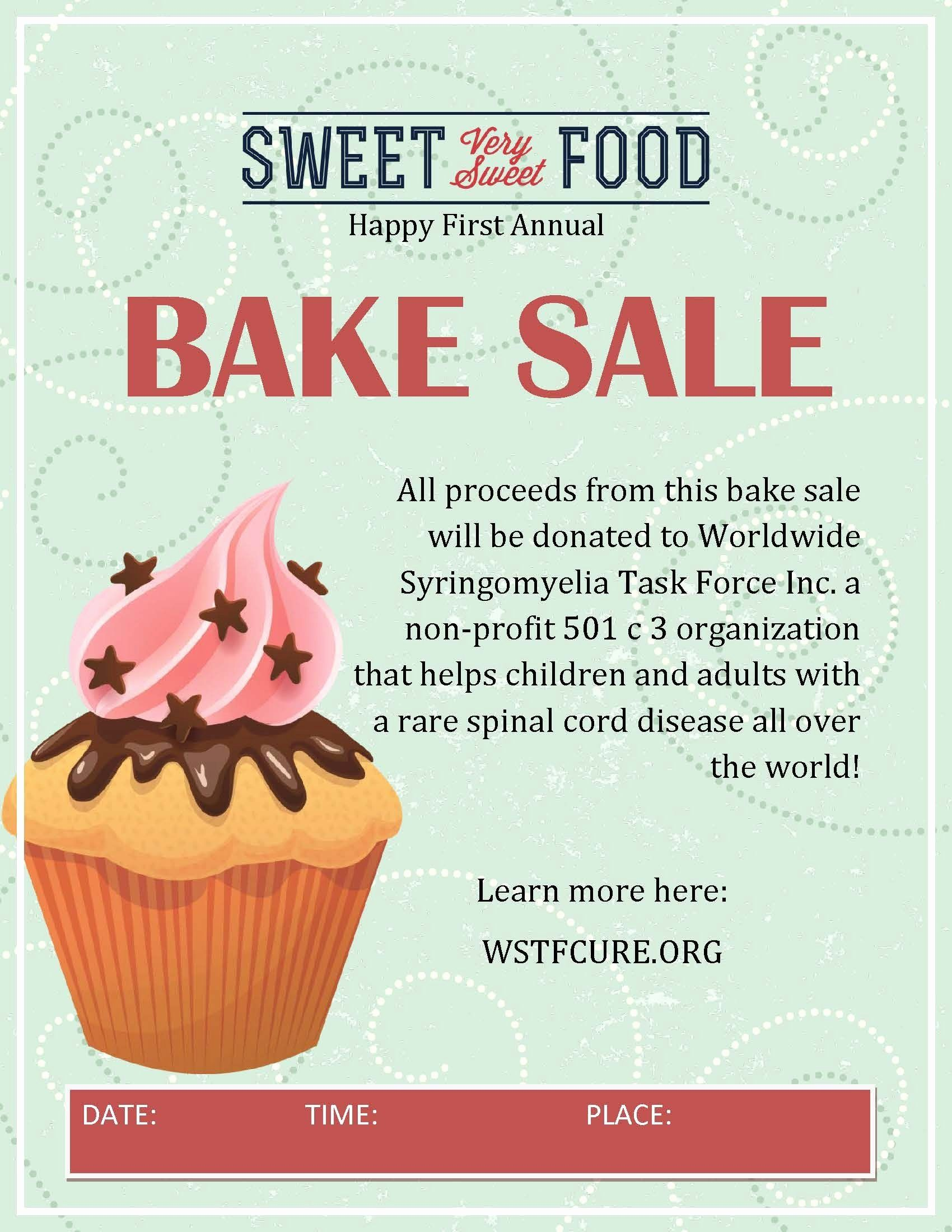 Bake Sale Flyer Template Lovely Participate And Do A Bake Sale In Your Area 100 Percent Bake Sale Flyer Fundraiser Flyer Bake Sale Bake sale fundraiser flyer template