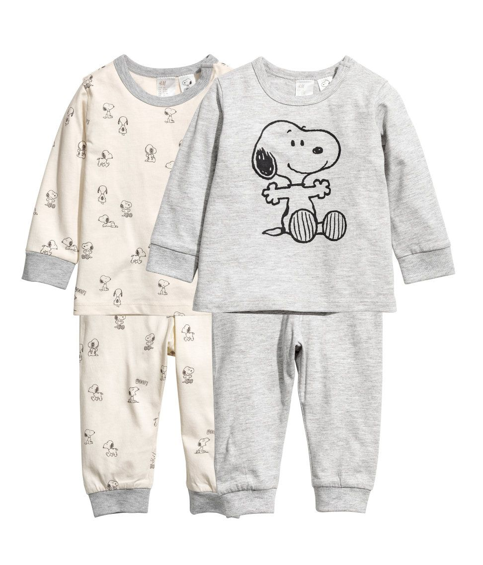 Pack de 2 pijamas de punto  0ae9483eb4f