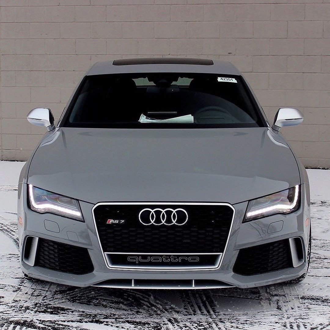 Audi RS7  Do you like this?  Tag a friend  Comme  Great